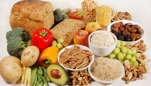 Dieta ricca di fibre e carboidrati