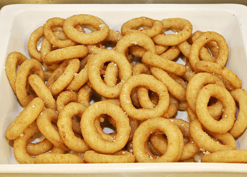 Dieta senza glutine_ onion rings