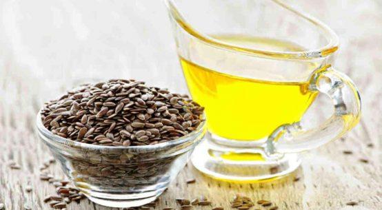 Olio e semi di lino