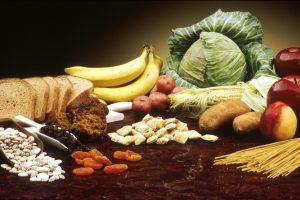 frutta e verdura caloriche