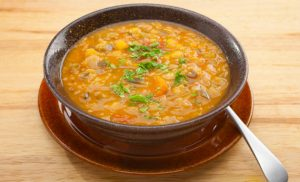 zuppa lenticchie zafferano